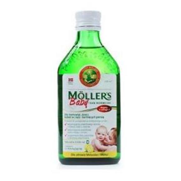 MOLLERS BABY TRAN cytrynowy 250 ml