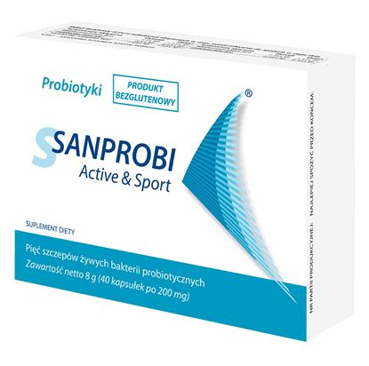 Obrazek Sanprobi Active&Sport 40 kapsułek