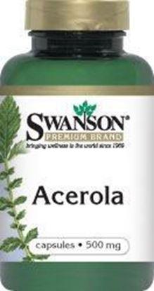 Obrazek SWANSON Acerola 500 mg 60 kaps