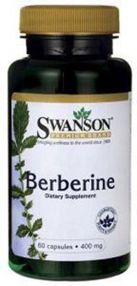 Obrazek SWANSON Berberyna 400 mg 60 kaps.