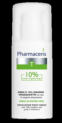 Obrazek Pharmaceris T Sebo-Almond Peel 10 % krem peelingujący II stopień złuszczania 50 ml