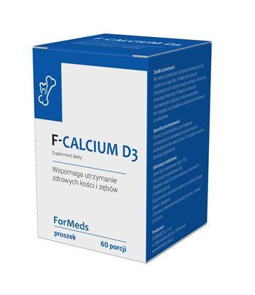 Obrazek F-Vit Calcium D3 proszek 60 porcji 78g.