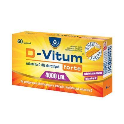 Obrazek D-Vitum forte 4000 j.m. 60 kaps.