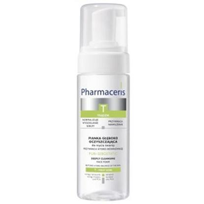 Pharmaceris T  PURI-SEBOSTATIC Pianka głęboko oczyszczająca do mycia twarzy 150 ml