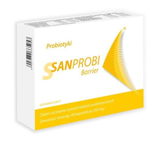 Sanprobi Barrier 40 kapsułek
