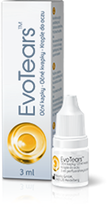 EvoTears krople do oczu 3 ml