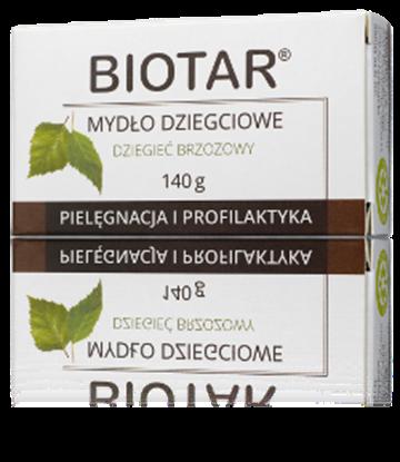 Obrazek BIOTAR Mydło dziegciowe 140g
