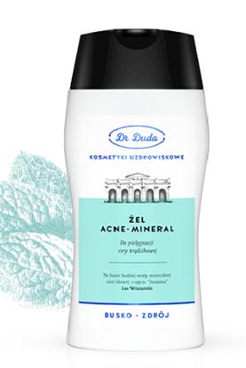 Obrazek Dr Duda Acne-Mineral żel do mycia twarzy skóra trądzikowa 200ml
