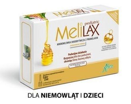 Obrazek Melilax Pediatrix 6 mikrowlewek dla dzieci.