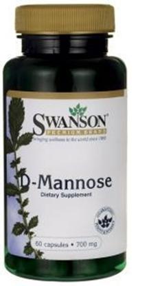 Obrazek SWANSON D-mannose 60 kaps