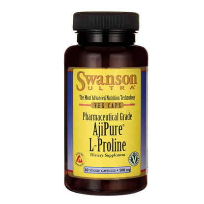 Obrazek SWANSON AjiPure L-Proline 60 kaps
