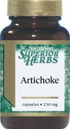 Obrazek SWANSON Artichoke 250 mg 60 kaps