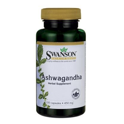 Obrazek SWANSON Ashwaganda 450 mg 100 kaps.