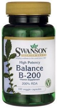 Obrazek SWANSON Balance B-200 100 kaps.