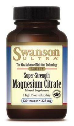 Obrazek SWANSON Cytrynian Magnezu 120 szt