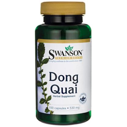 Obrazek SWANSON Dong Quai 530 mg 100 kaps.