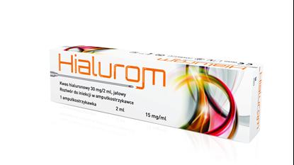 Obrazek Hialurom 30 mg/2 ml 1 amp.strz