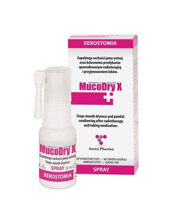 Obrazek MucoDry X aerozol doustny 20 ml