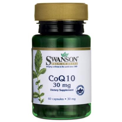 Obrazek SWANSON Koenzym Q10 30 mg 60 kaps.