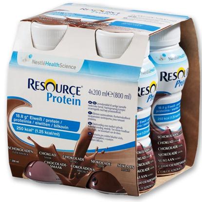 Obrazek Resource Protein czekoladowy 200 ml 4 szt.