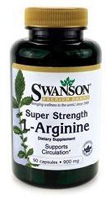 Obrazek SWANSON L-arginina forte 850 mg 90 kaps.
