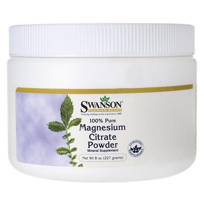 Obrazek SWANSON Magnezu Cytrynian 100% 227 g