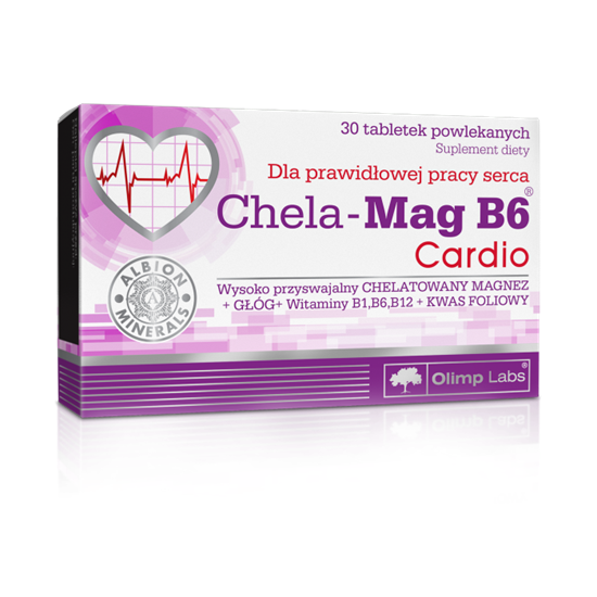 Obrazek Olimp Chela-Mag B6 Cardio 30 tabl