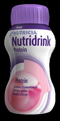 Obrazek Nutridrink Protein truskawkowy 4x125 ml.