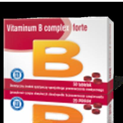Obrazek Vitaminum B Complex Forte 50 tabletek HASCO