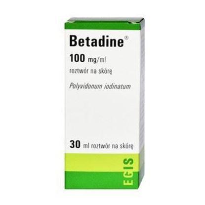 Obrazek Betadine roztwór na skórę 30 ml
