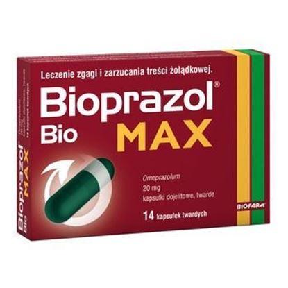 Obrazek Bioprazol Bio Max 20mg, 14 kapsułek