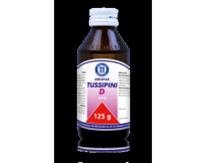 Obrazek Sirupus Tussipini D 125 g