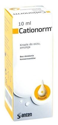 Obrazek Cationorm krop.do oczu 10 ml