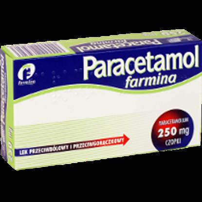 Obrazek Paracetamol 250 mg 10 czopków