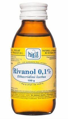 Obrazek Rivanol 0.1% rozt. 100 g