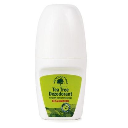 Obrazek Tea Tree dezodorant z olejkiem z drzewa herbacianego BEZ ALUMINIUM 60 g