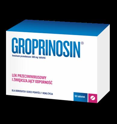 Obrazek Groprinosin 500mg 50 tabletek