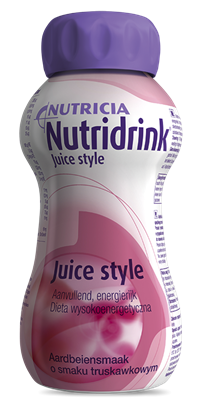 Obrazek Nutridrink Juice Style truskawkowy 4x200ml