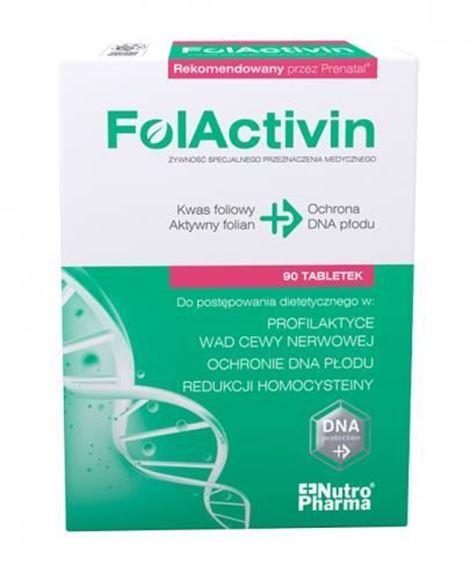 Obrazek FolActivin  0,4 mg 90 tabl.