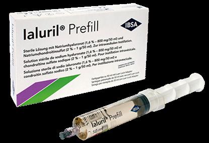 Obrazek Ialuril Prefill infuzja do pęcherza 1 ampułko-strzykawka