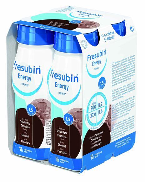 Obrazek Fresubin Protein ED czekolada 4x200 ml.