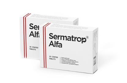 Obrazek SERMATROP ALFA  30 tabletek