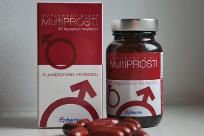 Obrazek MultiPROSTI dla mężczyzn 30 kapsułek