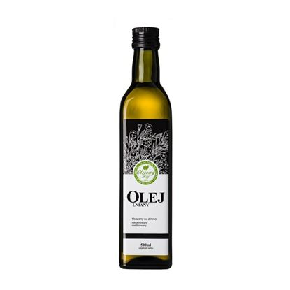 Obrazek Olejowy Raj olej lniany 500 ml.