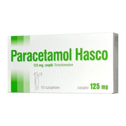 Obrazek Paracetamol Hasco 125 mg 10 czopków