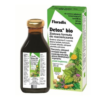 Obrazek Floradix Detox Bio 250 ml