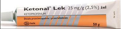 Obrazek Ketonal żel 0,025 g/g 50 g