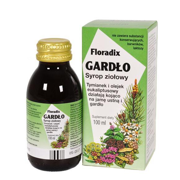 Obrazek Floradix Gardło syrop 100 ml