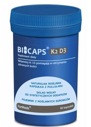 Obrazek BICAPS K2 D3 60 kaps.