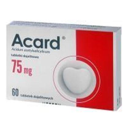 Obrazek Acard 75 mg 60 tabletek